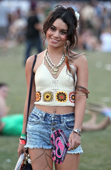 Vanessa Hudgens Celebrities at the 2011 Coachella Valley Music and Arts Festival - Day 3 Indio, California - 17.04.11 Featuring: Vanessa Hudgens When: 17 Apr 2011 Credit: WENN