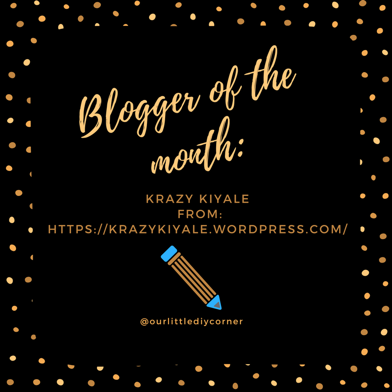 Blogger of the month- (3)