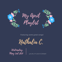 My April Playlist